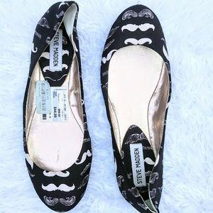 Shoes - Steve Madden Mustache Flats